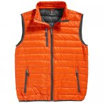 Fairview light down Bodywarmer , Orange, S