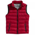 Mercer ladies Bodywarmer , Red,Grey, XS