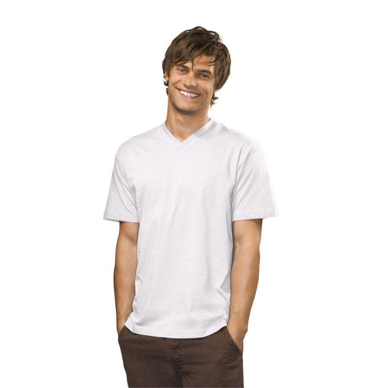 e6214357c213 Pánske tričko s výstrihom do V Classic
