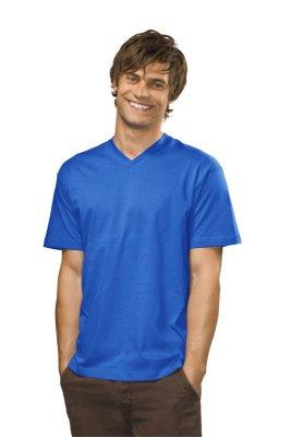 fbd80335d84a ... Obrázok - Pánske tričko s výstrihom do V Classic ...