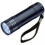 9 LED baterka Montargis , Black